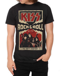 Kiss rock & Roll All Night Party T-Shirt M NWT